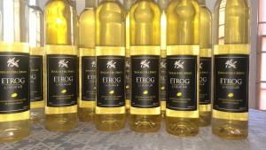 etrog liqueur production